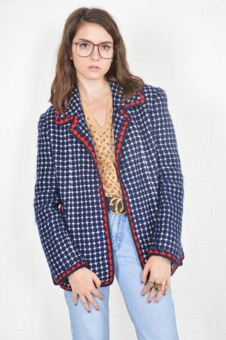 f4fc3ec5d087ae ... classic Chanel tweed blazer – circa late 1970s. Sold Out Sold Out! ZOOM  +. START SLIDESHOWSTOP SLIDESHOW